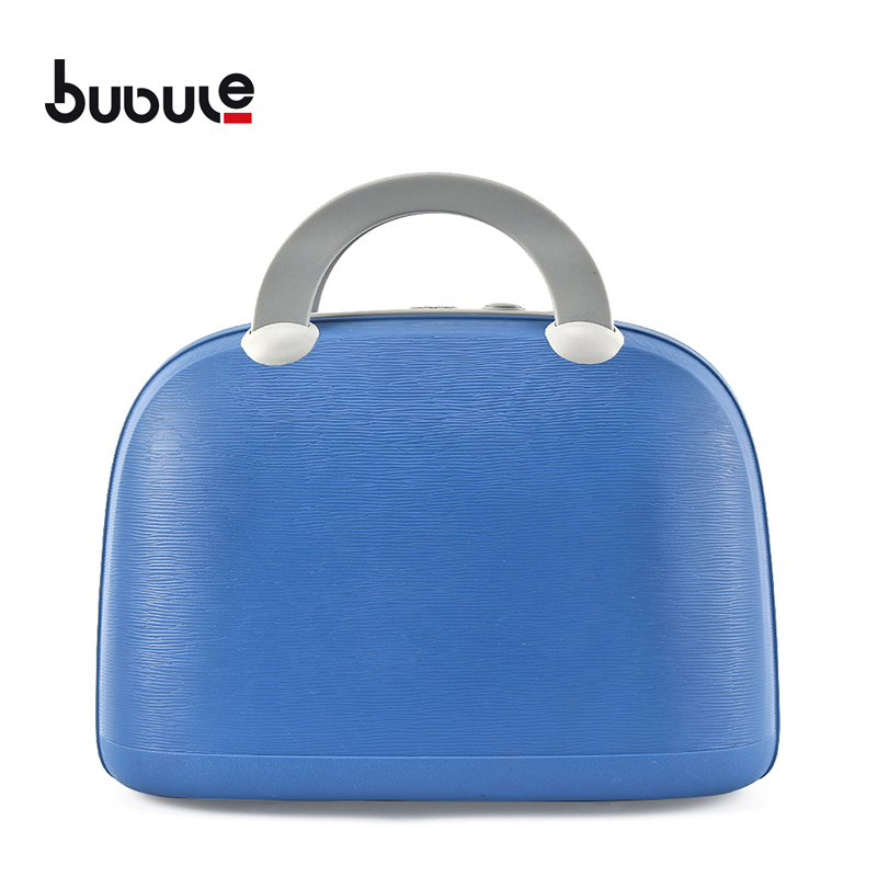 "BUBULE14"" PP Lock Cosmetic Box Women Makeup Case Bag for Travel"