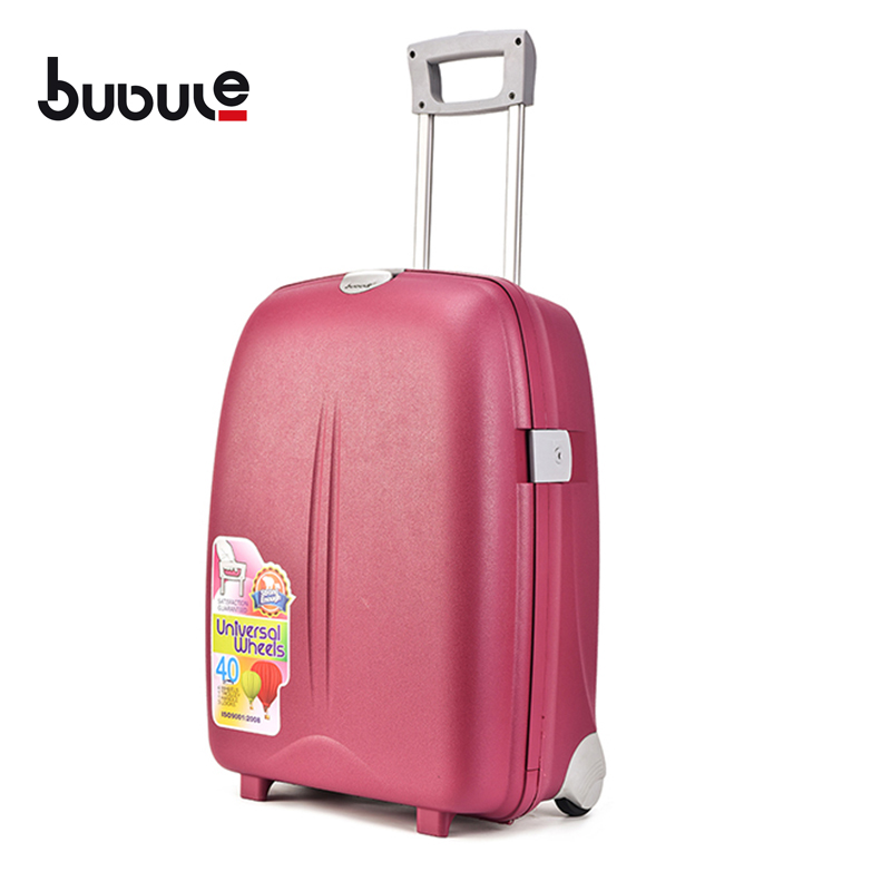 BUBULE 18'' Classic Suitcase Bag Travel Lock Trolley Luggage