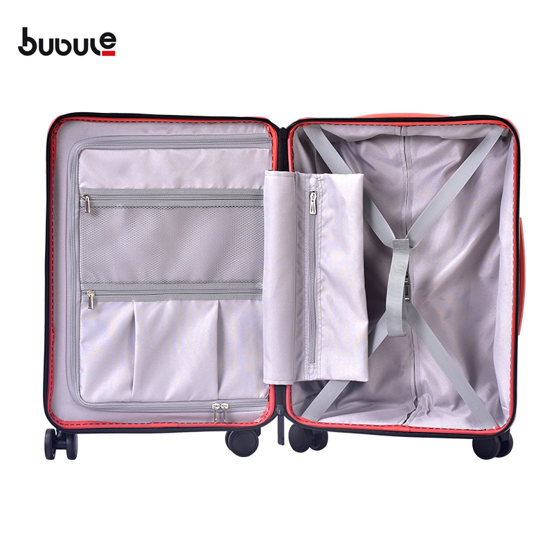 BUBULE PP Zipper Luggage Suitcase Set 3 Pieces Spinner Trolley Suitcase