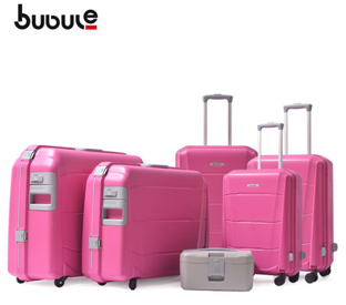 What is the difference between pp luggage and pc luggage?