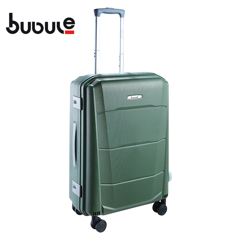 BUBULE 5pcs Classic Luggage Bag Set Carry on PP Travel Suitcases