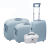 BUBULE 4pcs PP Travel Trolley Luggage Set Spinner Wheeled Suitcases