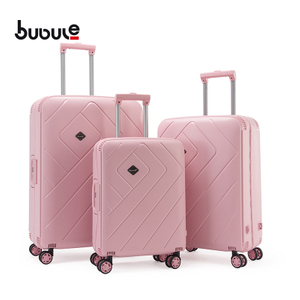 BUBULE PP Wheeled Trolley Bags Set 3PCS Customized Luggage forTravel
