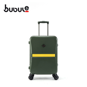 BUBULE 28'' PP OEM Trolly Luggage Bags lock Spinner Suitcase with Universal Wheels