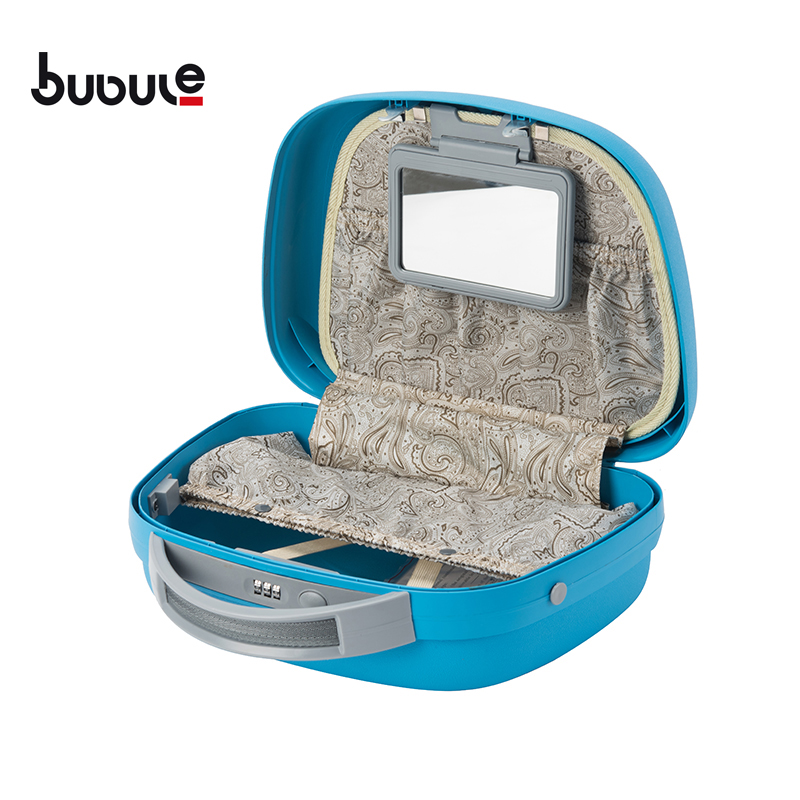 BUBULE OEM PP 4pcs Cheap Spinner Trolley Luggage Set Wheeled Suitcase