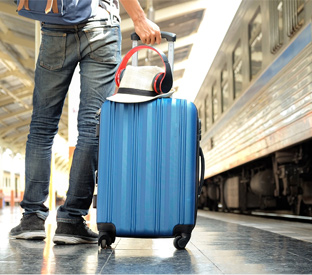 Should we use a portable travel bag or a suitcase?