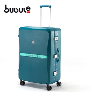 BUBULE 20'' Lock Trolly Luggage Bags Spinner Suitcase with Universal Wheels