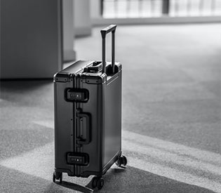 A method to quickly identify the quality of the trolley case