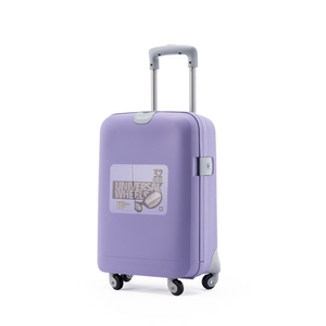 BUBULE 22'' Single Handle Trolley Luggage Wholesale Travel Land Suitcase Rolling Wheeled Suitcase