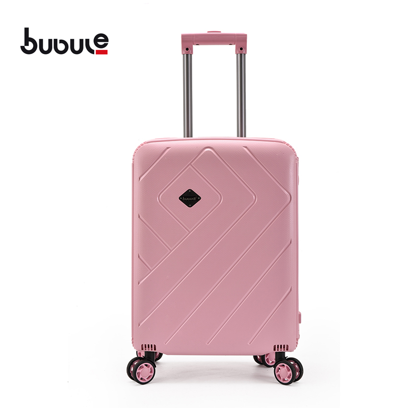 BUBULE 20'' PP Wheeled Trolley Bags Set Customized Suitcase Luggage forTravel